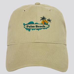 Palm Beach - Surf Design. Cap