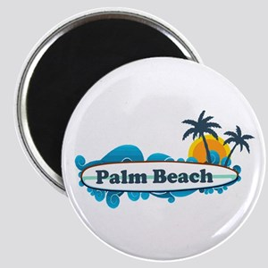Palm Beach - Surf Design. Magnet