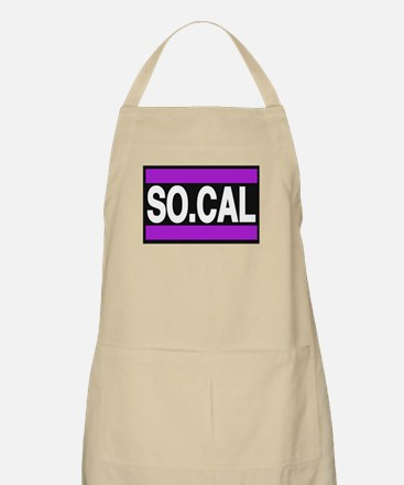 so cal a purple Apron