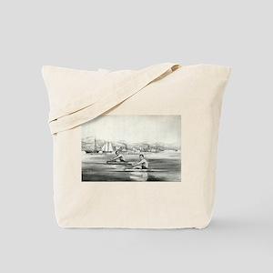 James Hammill, and Walter Brown - 1867 Tote Bag