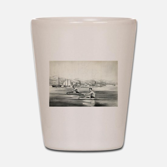 James Hammill, and Walter Brown - 1867 Shot Glass
