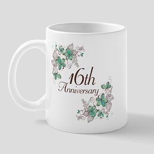16th Anniversary Keepsake Mug