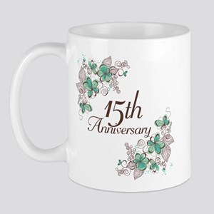 15th Anniversary Keepsake Mug