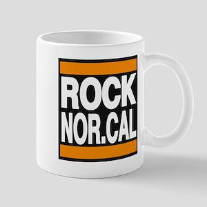 rock nor cal orange Mug