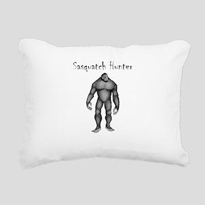 Sasquatch Hunter Rectangular Canvas Pillow