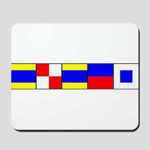 DUDES Flag Mousepad