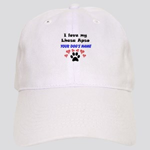 Custom I Love My Lhasa Apso Baseball Cap