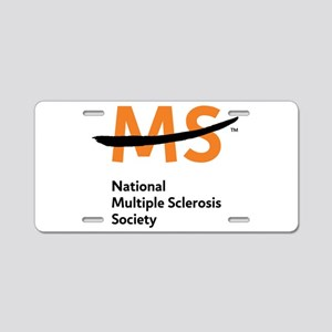 National MS Society Aluminum License Plate