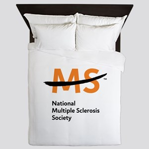 National MS Society Queen Duvet