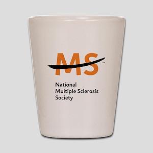 National MS Society Shot Glass