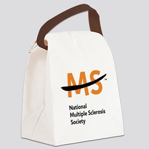 National MS Society Canvas Lunch Bag