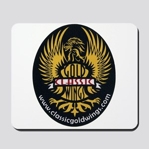 Classic Goldwings Logo Mousepad
