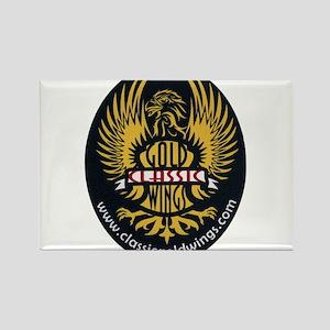 Classic Goldwings Logo Rectangle Magnet