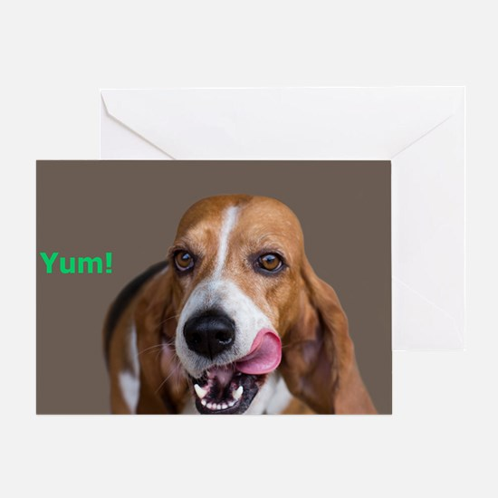 Basset Hound Birthday Card Greeting Card