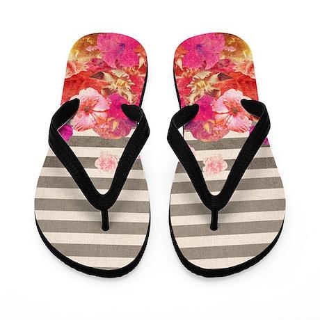 Flip Flops Floral Bars