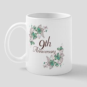 9th Anniversary Keepsake Mug