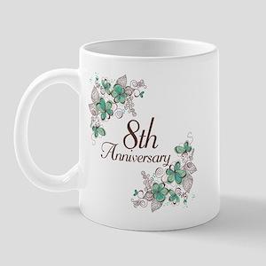 8th Anniversary Keepsake Mug