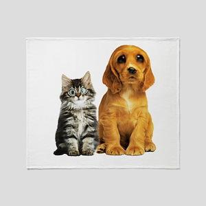 kittenpuppy Liquify Throw Blanket
