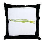 Silverside minnow fish t Throw Pillow