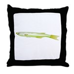 Silverside minnow fish t Throw Pillow