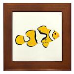 Clownfish t Framed Tile
