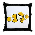 Clownfish t Throw Pillow