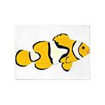 Clownfish t 5'x7'Area Rug