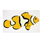 Clownfish t 3'x5' Area Rug