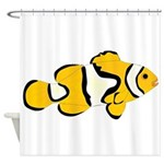 Clownfish t Shower Curtain