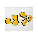 Clownfish t Throw Blanket