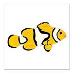 Clownfish t Square Car Magnet 3