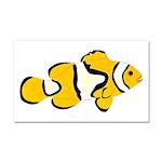 Clownfish t Car Magnet 20 x 12
