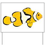 Clownfish t Yard Sign