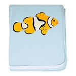 Clownfish t baby blanket