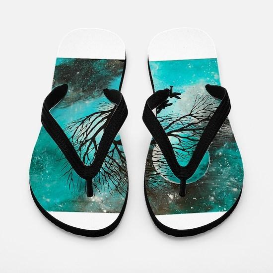 Dragonfly Bliss Flip Flops