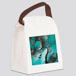 Dragonfly Bliss Canvas Lunch Bag