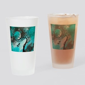 Dragonfly Bliss Drinking Glass