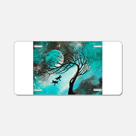 Dragonfly Bliss Aluminum License Plate