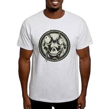 Distressed Wild Lizard Stamp Light T-Shirt
