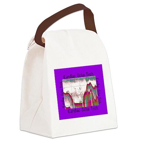 cardiac echo tech 8 Canvas Lunch Bag