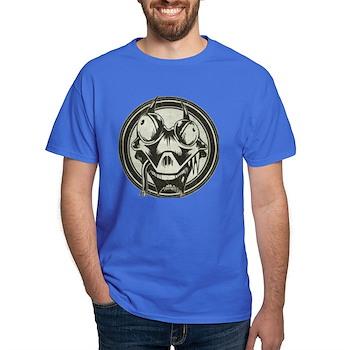 Distressed Wild Lizard Stamp Dark T-Shirt