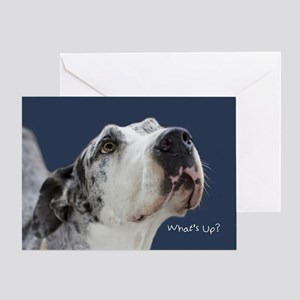 Great Dane Birthday Card Greeting Card