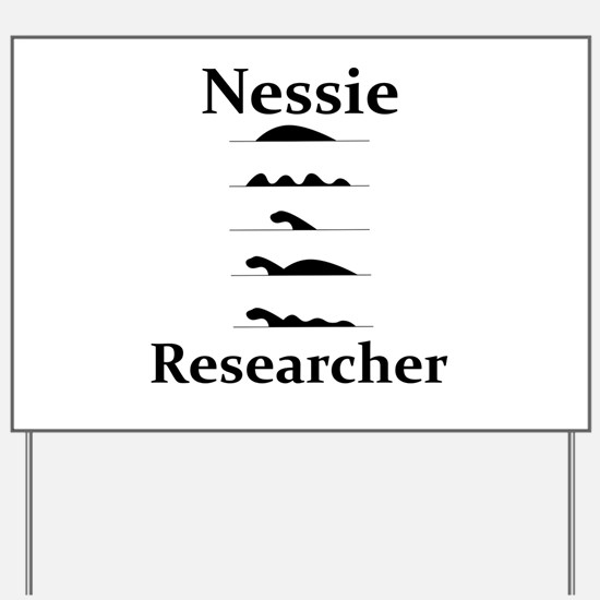 Nessie Researcher Yard Sign