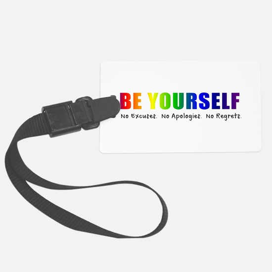 Be Yourself (Rainbow) Luggage Tag