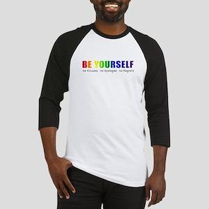 Be Yourself (Rainbow) Baseball Jersey