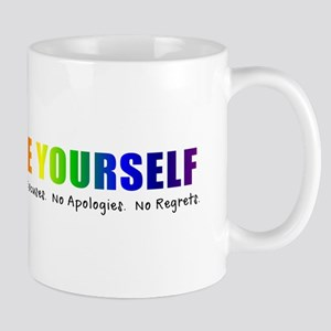 Be Yourself (Rainbow) Mug