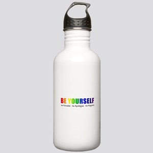 Be Yourself (Rainbow) Stainless Water Bottle 1.0L