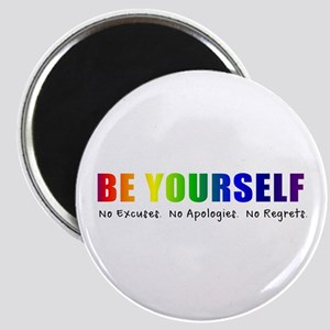 Be Yourself (Rainbow) Magnet