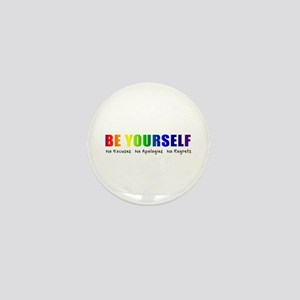 Be Yourself (Rainbow) Mini Button (10 pack)