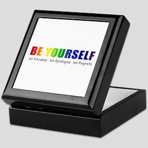 Be Yourself (Rainbow) Keepsake Box